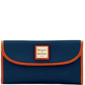 Dooney and Bourke Continental Clutch in Navy